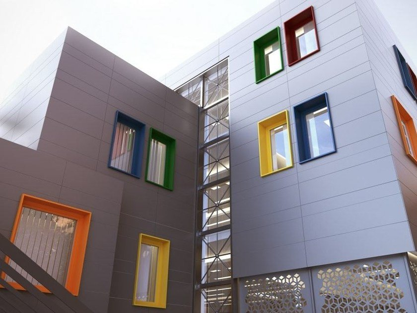 PVC double glazed window VISION 2020 by NURITH