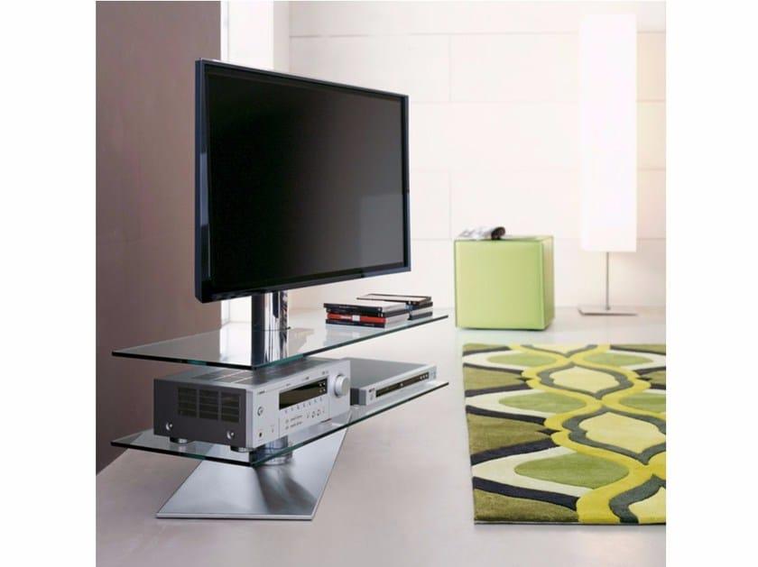 Swivel TV cabinet VISION by Cattelan Italia