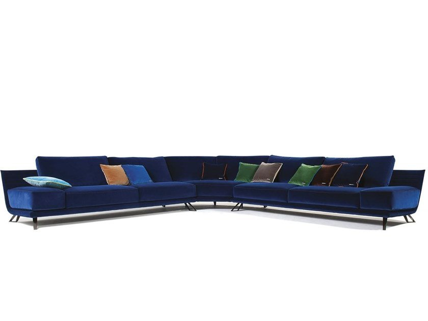 Sectional fabric sofa VISION by ROCHE BOBOIS