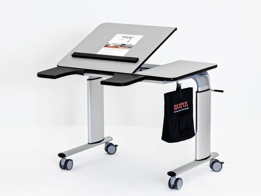 Bureau réglable en hauteur avec commande électrique vision table