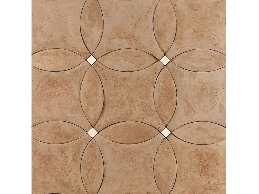 Terracotta wall/floor tiles VISIONI by Palazzo Morelli