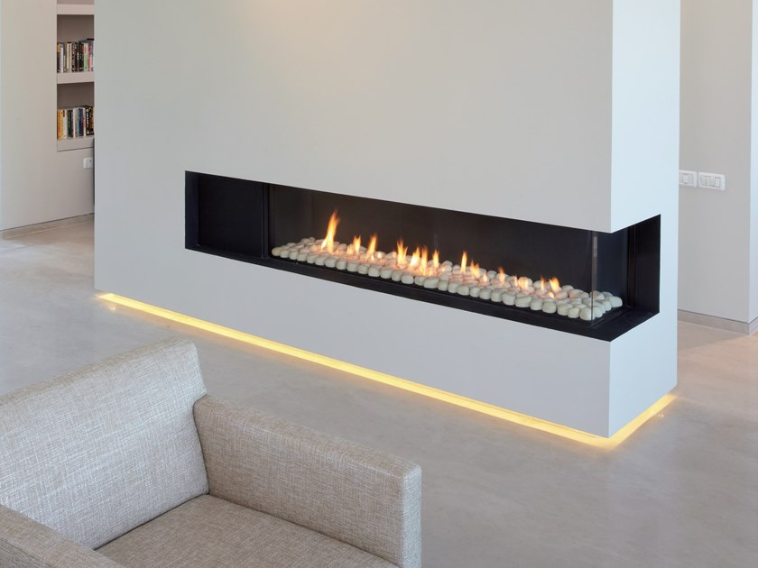 Gas Built In Fireplace With Remote Control Vista 150 By British