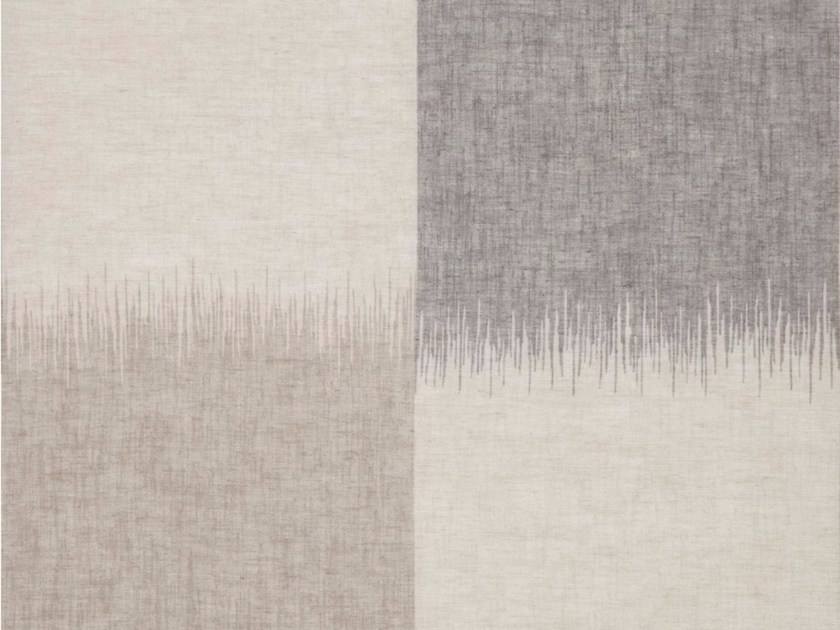 Fabric with graphic pattern for curtains VISTA by Gancedo