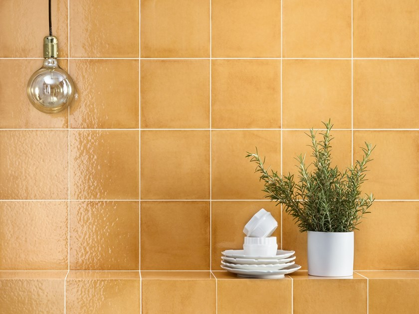 Porcelain stoneware wall/floor tiles VITA ARANCIONE by CERAMICA SANT'AGOSTINO
