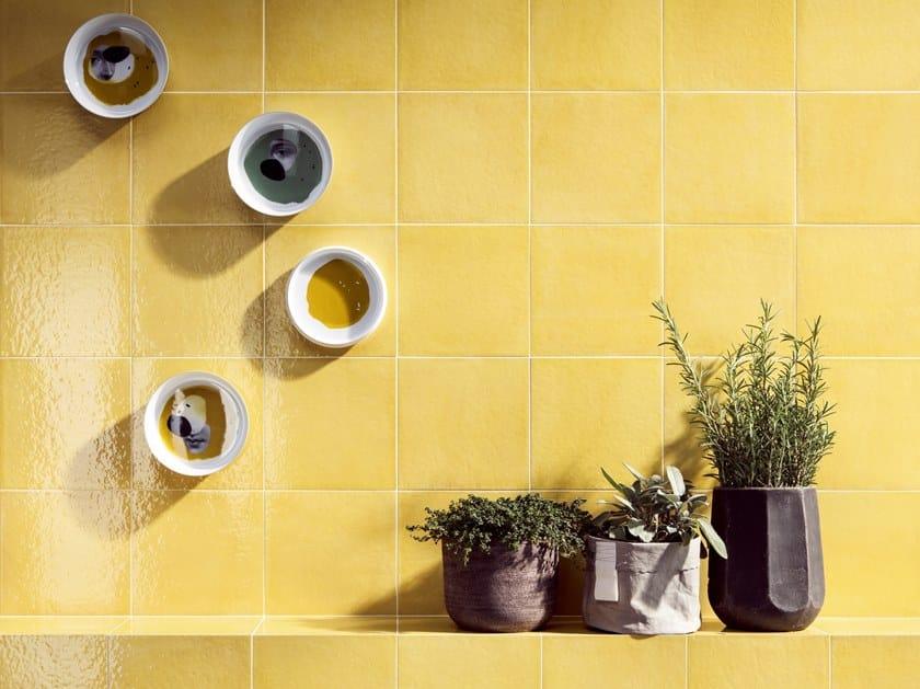 Porcelain stoneware wall/floor tiles VITA GIALLO by CERAMICA SANT'AGOSTINO