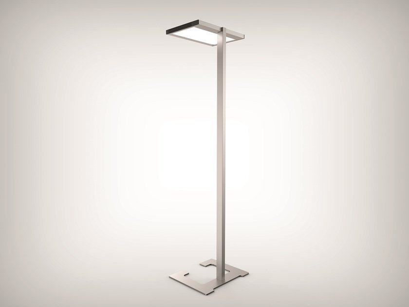 LED direct-indirect light floor lamp VITAWORK® by LUCTRA®
