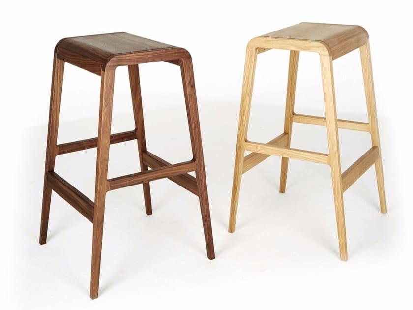 Wooden barstool VITO by Dare Studio