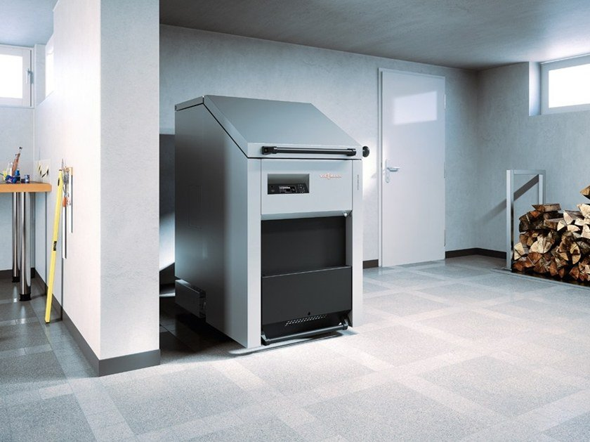 Wood-burning boiler VITOLIGNO 250-S by VIESSMANN