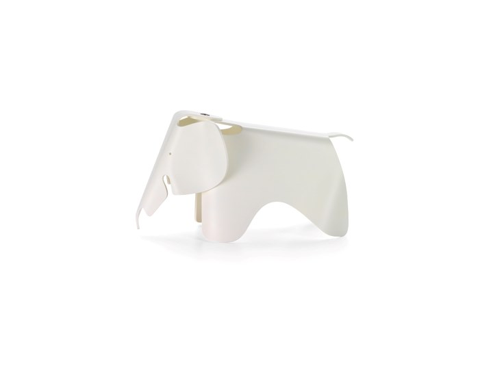 Sedia in polipropilene VITRA - EAMES ELEPHANT Small white by Archiproducts.com