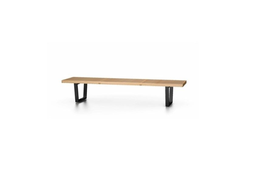 Panca in legno VITRA - NELSON BENCH by Archiproducts.com
