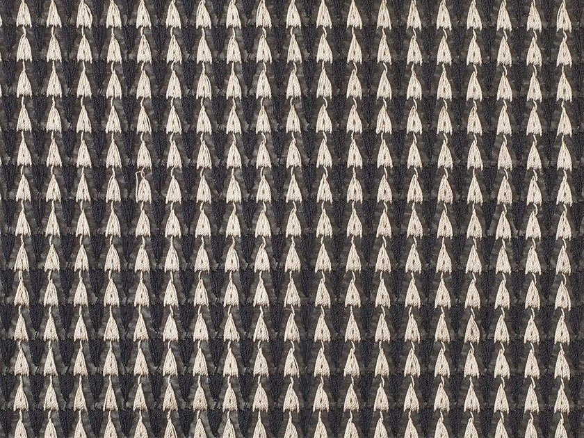 Fabric with graphic pattern VIVA by Dedar