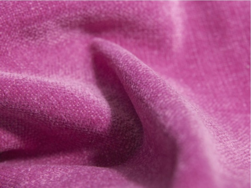 Solid-color washable polyester fabric VIVACE by FRIGERIO