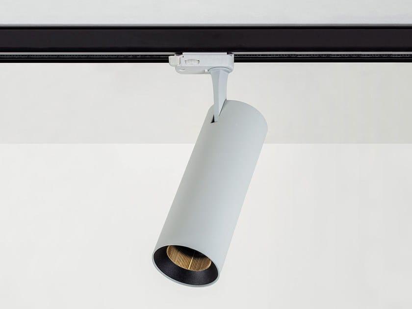 Illuminazione a binario a LED in alluminio verniciato a polvere VIVID (FULL COLORS) by HER