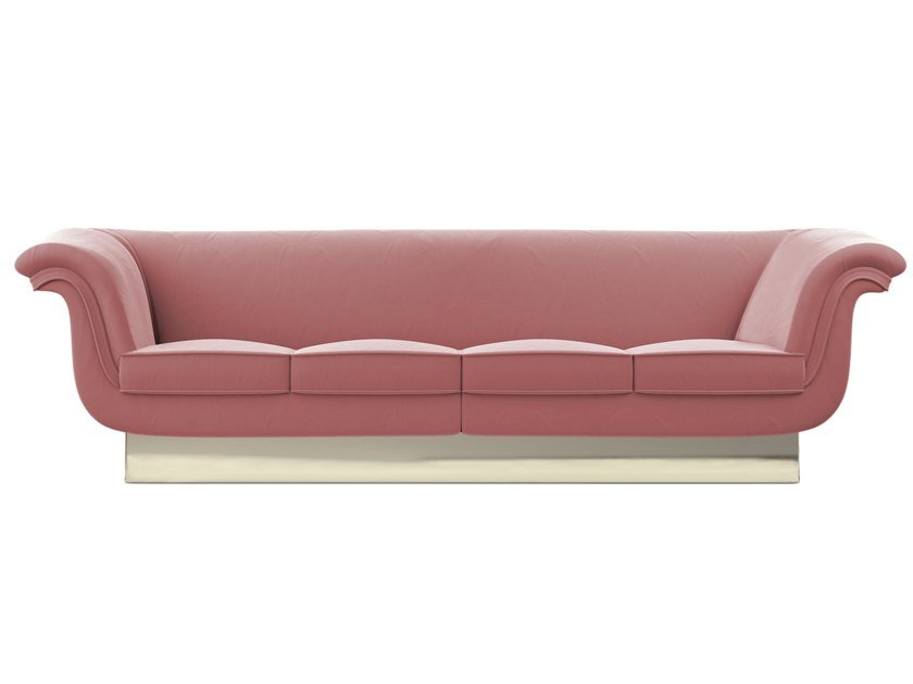 Contemporary style upholstered fabric sofa VIVIEN by Ottiu