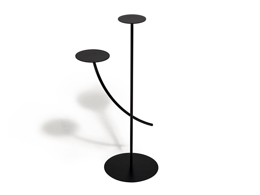 Steel side table VIZIO by Living Divani