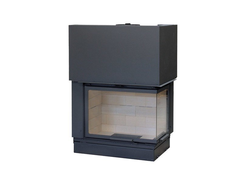 Corner Fireplace insert VLD900 by Axis