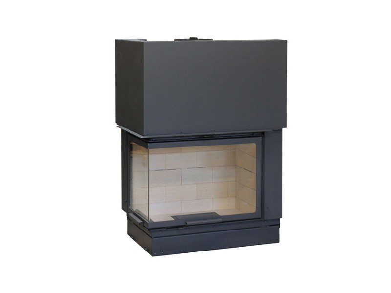 Corner Fireplace insert VLG900 by Axis