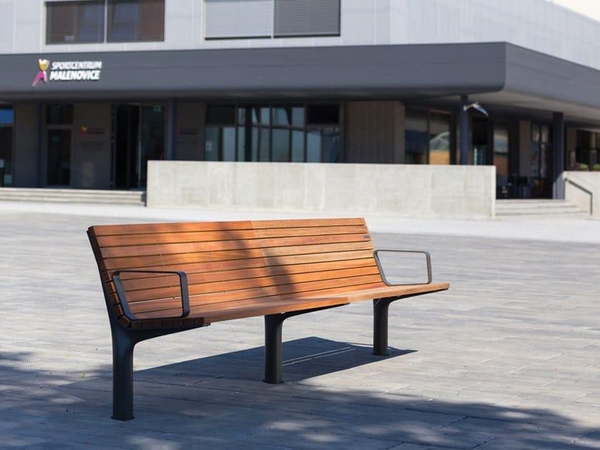 VLTAU | Panchina con braccioli