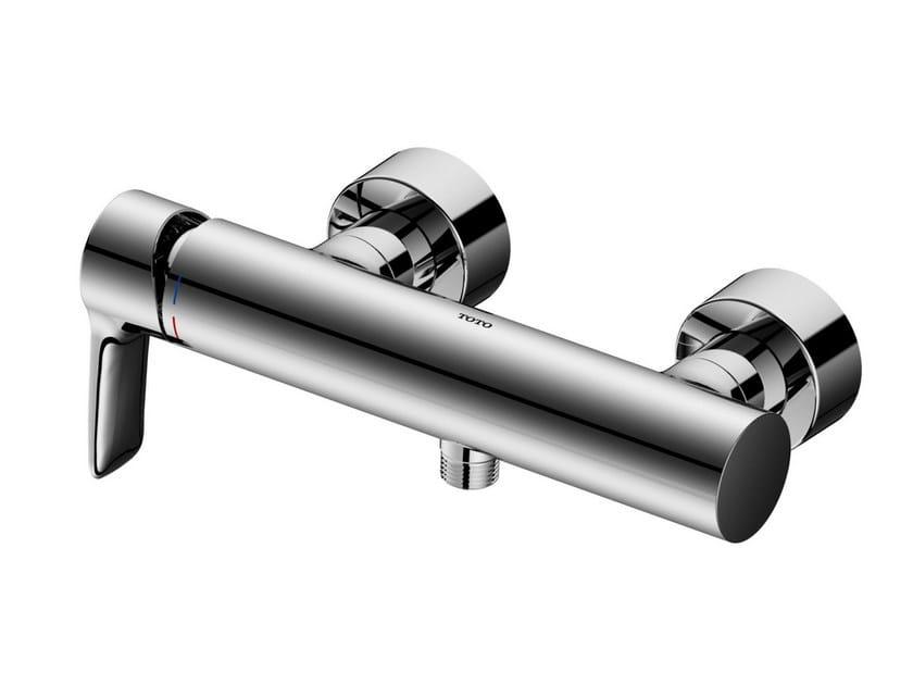 Single handle chromed brass shower mixer VM10051C | Single handle shower mixer by TOTO
