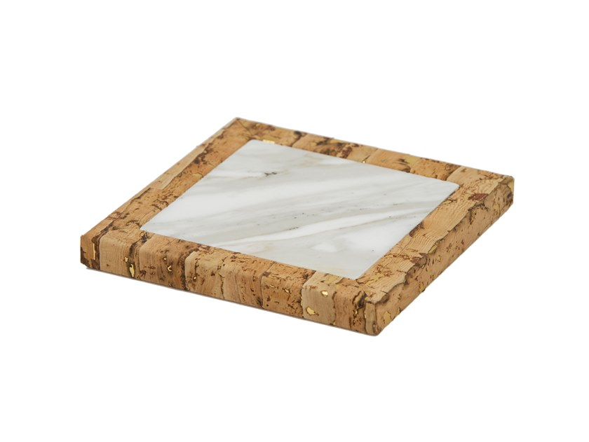 Marble drink coaster VOGUA by Green Apple