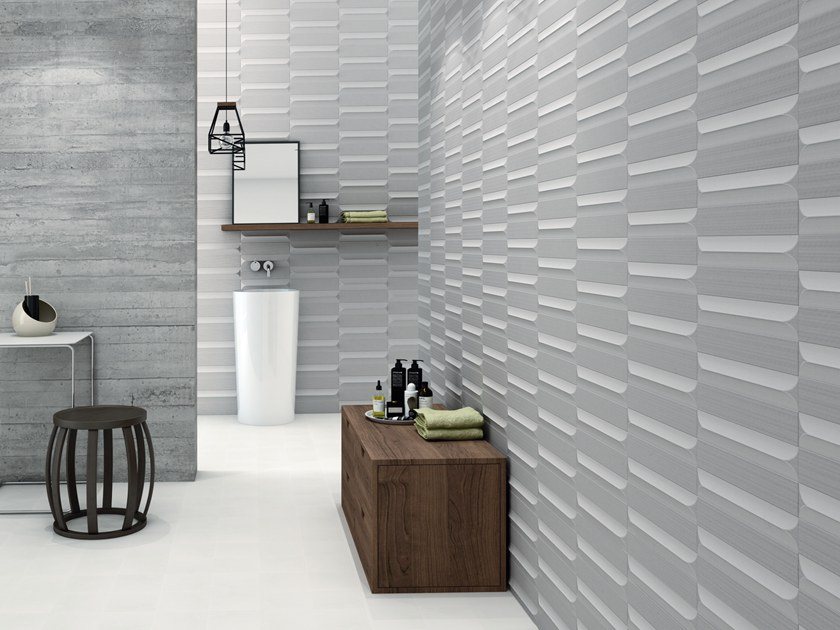Indoor white-paste wall tiles VOGUE by Cevica