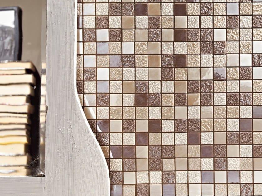Vogue Interni Grigio : Mosaico in ceramica vogue mosaico arezia