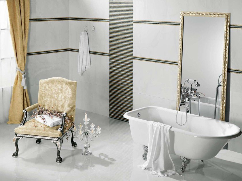 Porcelain stoneware wall/floor tiles VOGUE by Museum