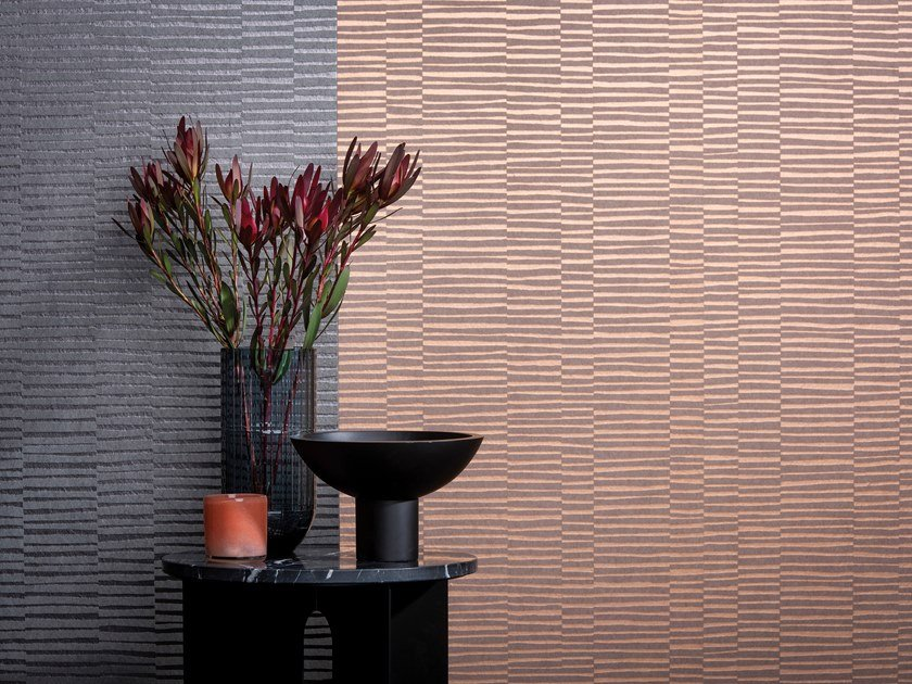 Nonwoven wallpaper VOGUE STRIPE by Omexco