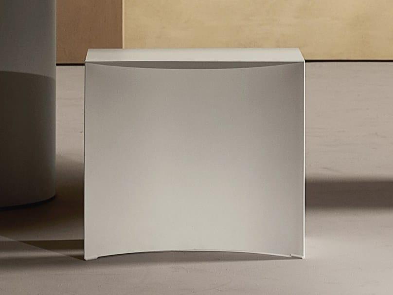 Sled base steel stool VOID | Stool by Desalto