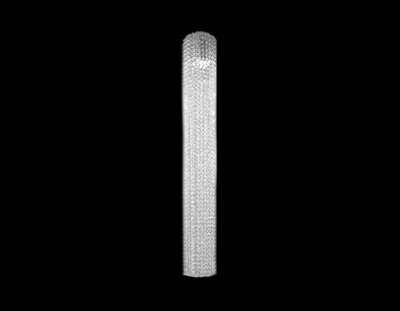 Lampada a sospensione alogena fatta a mano in cristallo VOILE | Lampada a sospensione in cristallo by Manooi