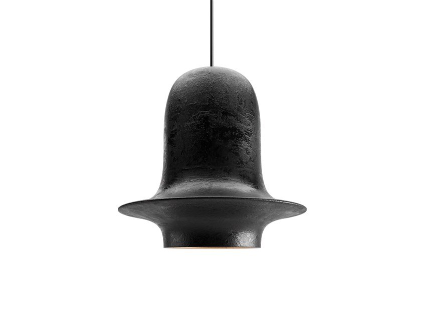 LED handmade ceramic pendant lamp VOLCANO by Sergey Makhno Product