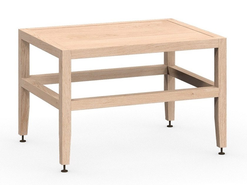 Rectangular wooden coffee table VOLITARE | Coffee table by Coquo