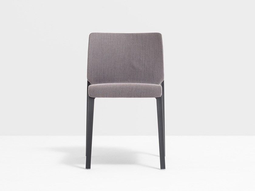 Fabric chair with armrests VOLT 671 by PEDRALI