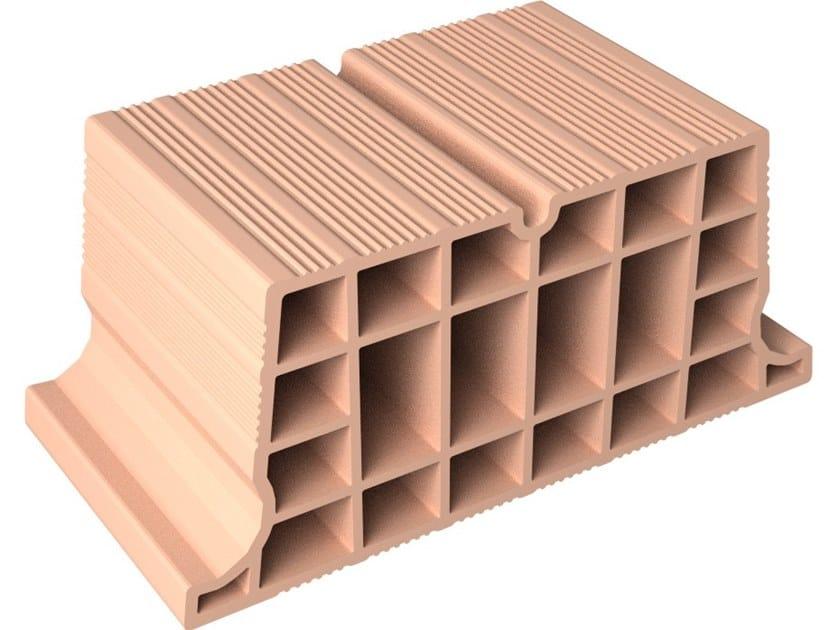 Hollow clay floor slab block VOLTERRANE H22X50 by Fornaci DCB