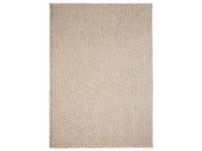 Handmade fabric rug VOLVER by Warli
