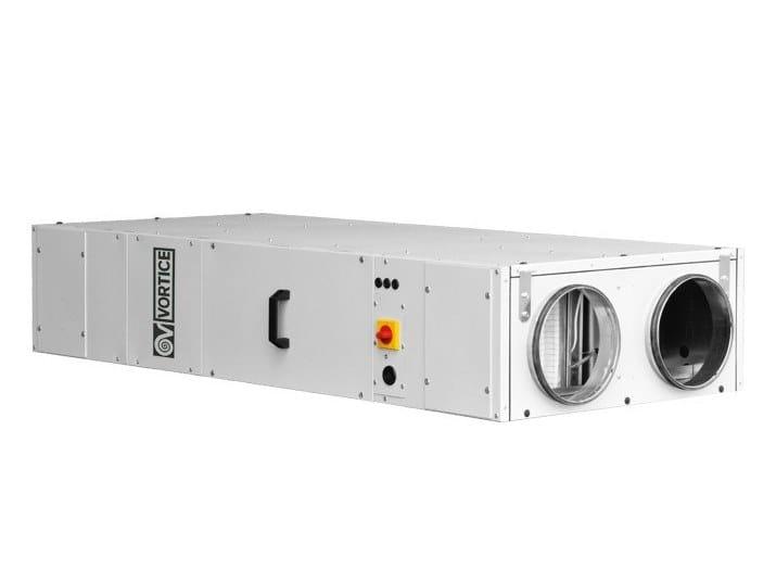 Recuperatore di calore per uso industriale VORT NRG 1500 EC by Vortice