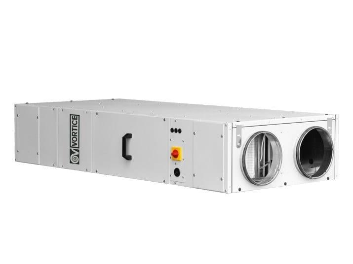 Recuperatore di calore per uso industriale VORT NRG 2500 EC by Vortice