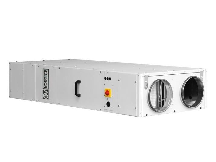Recuperatore di calore per uso industriale VORT NRG 600 EC by Vortice