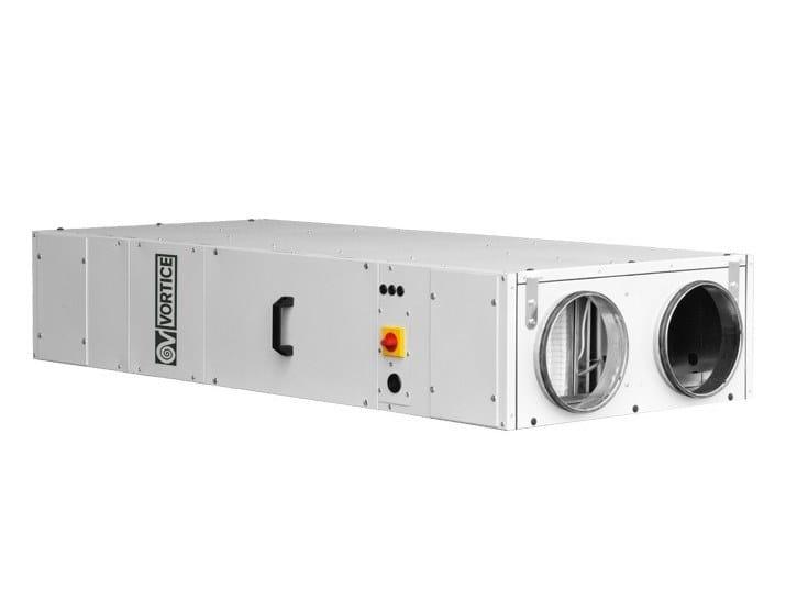 Recuperatore di calore per uso industriale VORT NRG 800 EC by Vortice