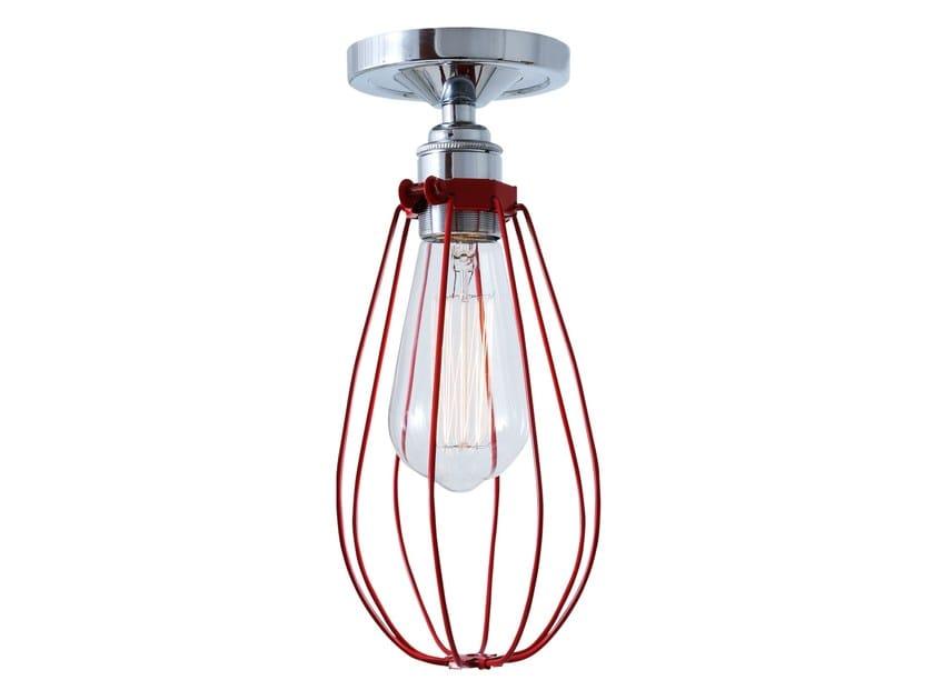Handmade brass ceiling lamp VOX FLUSH | Ceiling lamp by Mullan Lighting