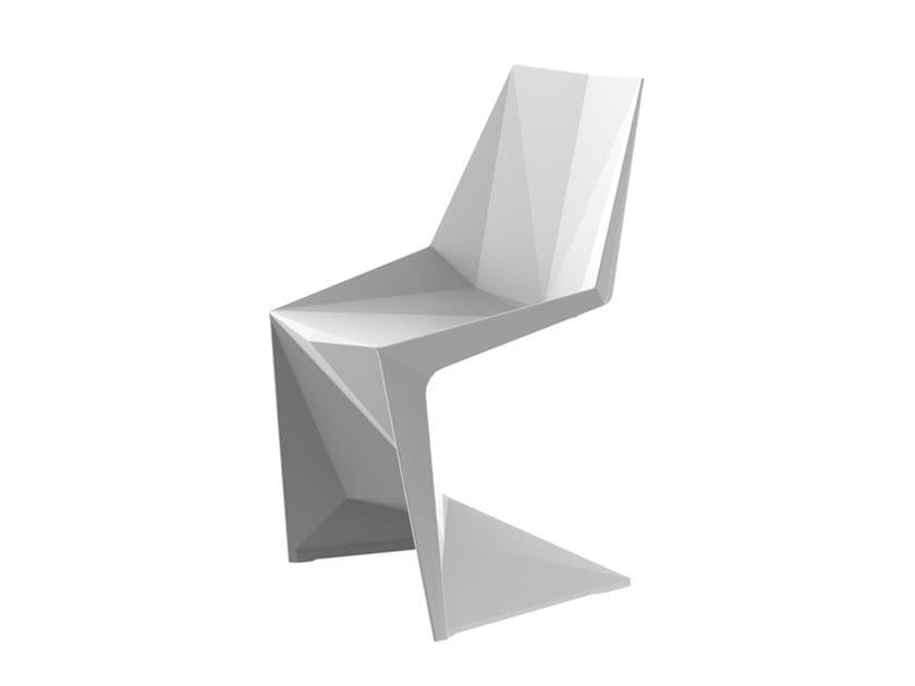 Stackable garden chair VOXEL | Chair by VONDOM