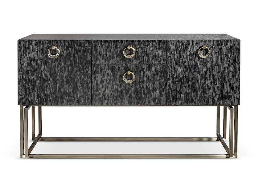 Wooden sideboard with drawers VOYAGE | Sideboard with drawers by Cantori