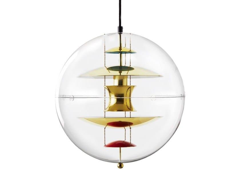 Acrylic pendant lamp VP GLOBE by Verpan