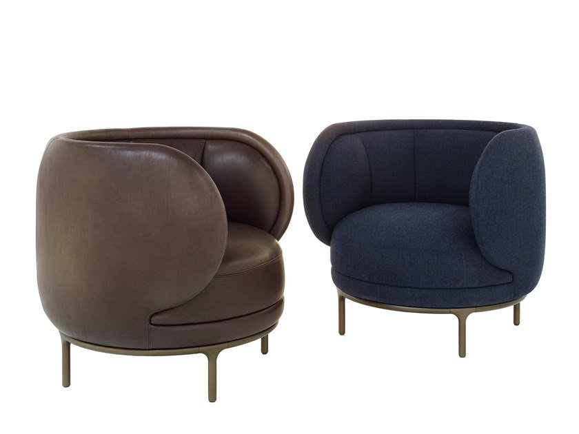 Armchair with armrests VUELTA 80 | Armchair by Wittmann