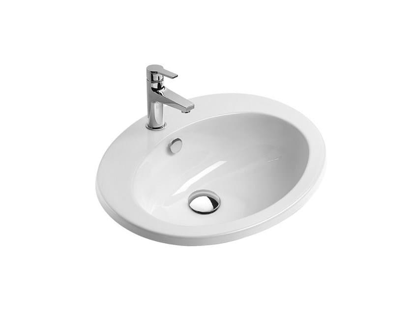 Washbasin with overflow Vanity basin by CERAMICA CATALANO