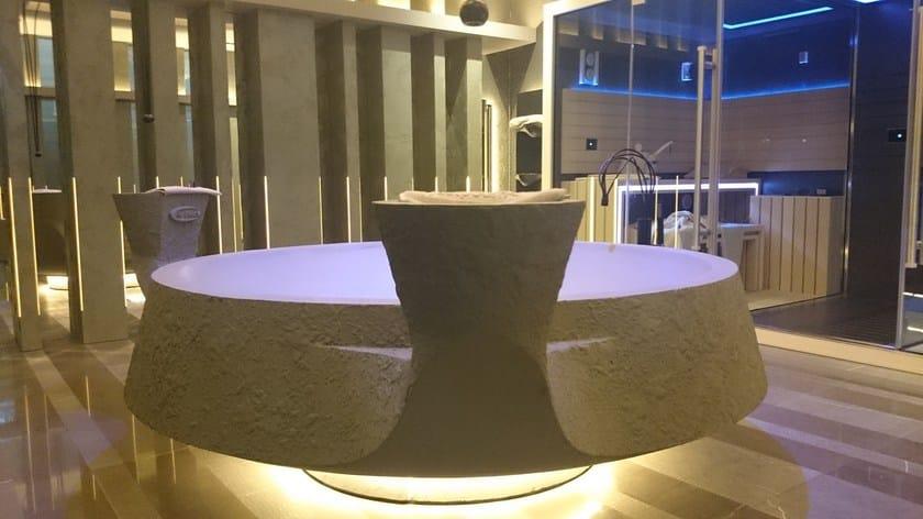 Vasche Idromassaggio in EPS VASCA DESIGN CON RIVESTIMENTO IN RESINA