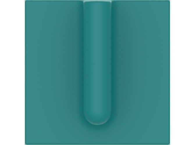 Wall-mounted ABS vase SINGLE STEAM VASE by Add Plus