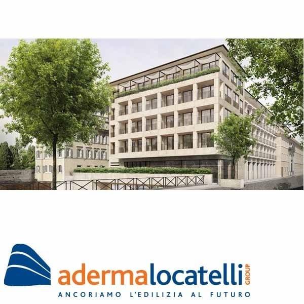 Ventilated facade Ventilated facade by AdermaLocatelli