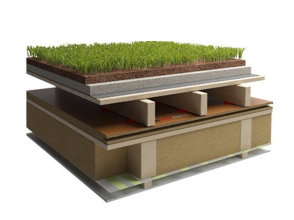 Ventilated roof system Ventilated roof by Naturalia BAU