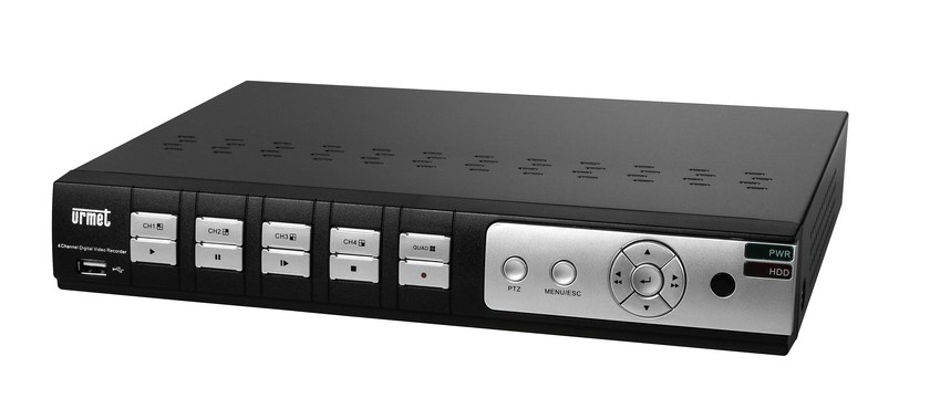 Sistema di sorveglianza e controllo Videoregistratore digitale 8 CH 1080p by Urmet